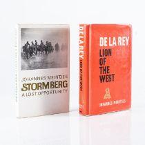 Meintjes, J. ? LOT OF TWO BOOKS BY JOHANNES MEINTJES