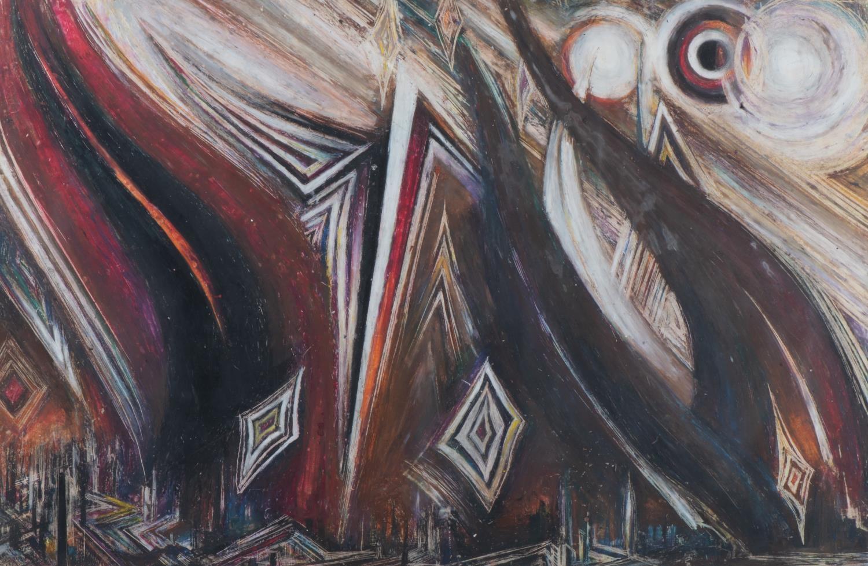 Harry Trevor (South Africa 1922 -1970): EXODUS OF THE CITIES: A DECOR