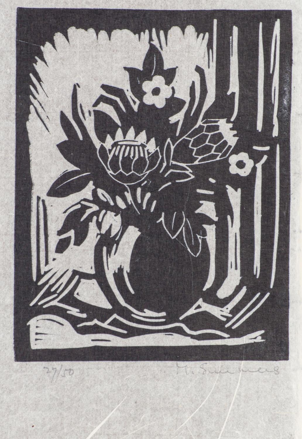 Melvin Simmers (South Africa 1907 ? 1991): FIVE LINOCUTS - Image 3 of 4