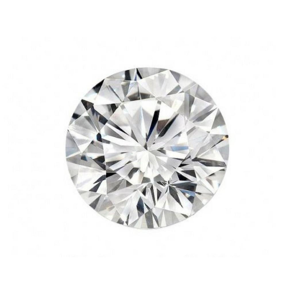 A CERTIFIED 0,808 CARAT DIAMOND