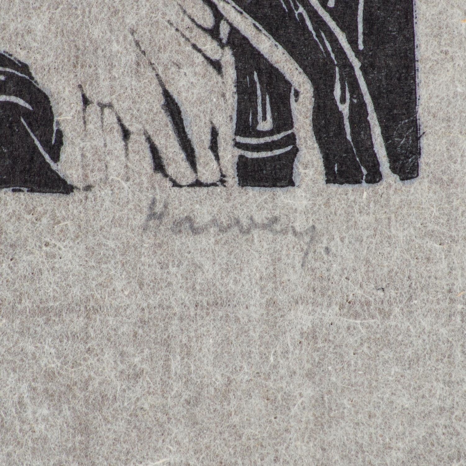 Russell Harvey (South African 1904 ? 1963): FIVE LINOCUTS - Image 2 of 3