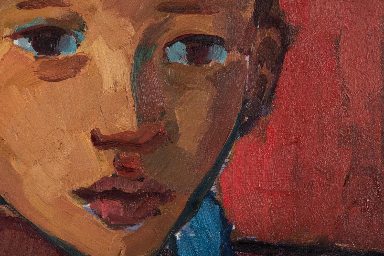 François Krige (South Africa 1913 ? 1994): BOY IN BLUE - Image 4 of 6