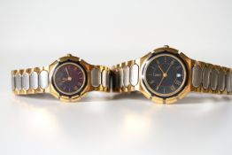 YVES SAINT LAURENT YSL HIS AND HERS WATCHES