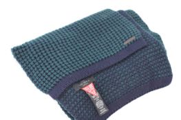 TED BAKER MERINO WOOL SCARF, Colour : GREEN PATTERNED, AGE: UNKNOWN, SIZE: ONE SIZE, CONDITION
