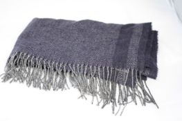 ZIGHILLI SCARF (MADE IN ITALY), Colour : BLUE, AGE: UNKNOWN, SIZE: ONE SIZE, CONDITION GRADE: 1 VERY
