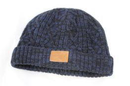 ANIMAL BEANIE HAT FUR LINED, Colour : BLUE, AGE: UNKNOWN, SIZE: ONE SIZE, CONDITION GRADE: 1 VERY