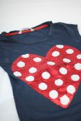 RED HERRING KIDS T-SHIRT, Colour : NAVY BLUE, AGE: 12YRS, SIZE: UNKNOWN, CONDITION GRADE: 1 VERY