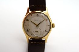*TO BE SOLD WITHOUT RESERVE* GENTLEMAN'S RARE VINTAGE GARRARD 9CT GOLD DENNISON AQUATITE FORD