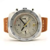 GENTLEMAN'S 1970S JUNGHANS OLYMPIC CHRONOGRAPH, MANUALLY WOUND VALJOUX 7734, 40MM STAINLESS STEEL