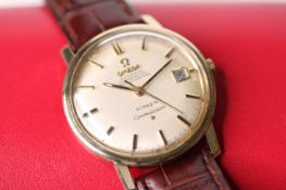 VINTAGE OMEGA X TURLER AUTOMATIC CHRONOMETER CONSTELLATION REFERENCE 168.010, circular silvered