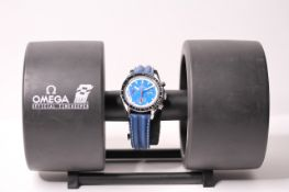 LIMITED EDITION OMEGA SPEEDMASTER INDY CART 500 WITH BOX CIRCA 1997 REFERENCE 175.0032.1/33.1,