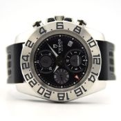 GENTLEMAN'S TUDOR ICONAUT GMT CHRONOGRAPH FULL SET,REF. 20400, JUNE 2012, STAINLESS STEEL, 44MM,