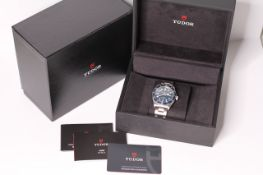 2020 TUDOR BLACK BAY 58 BLUE 79030B UNWORN, blue dial with luminous dot hour markers, blue