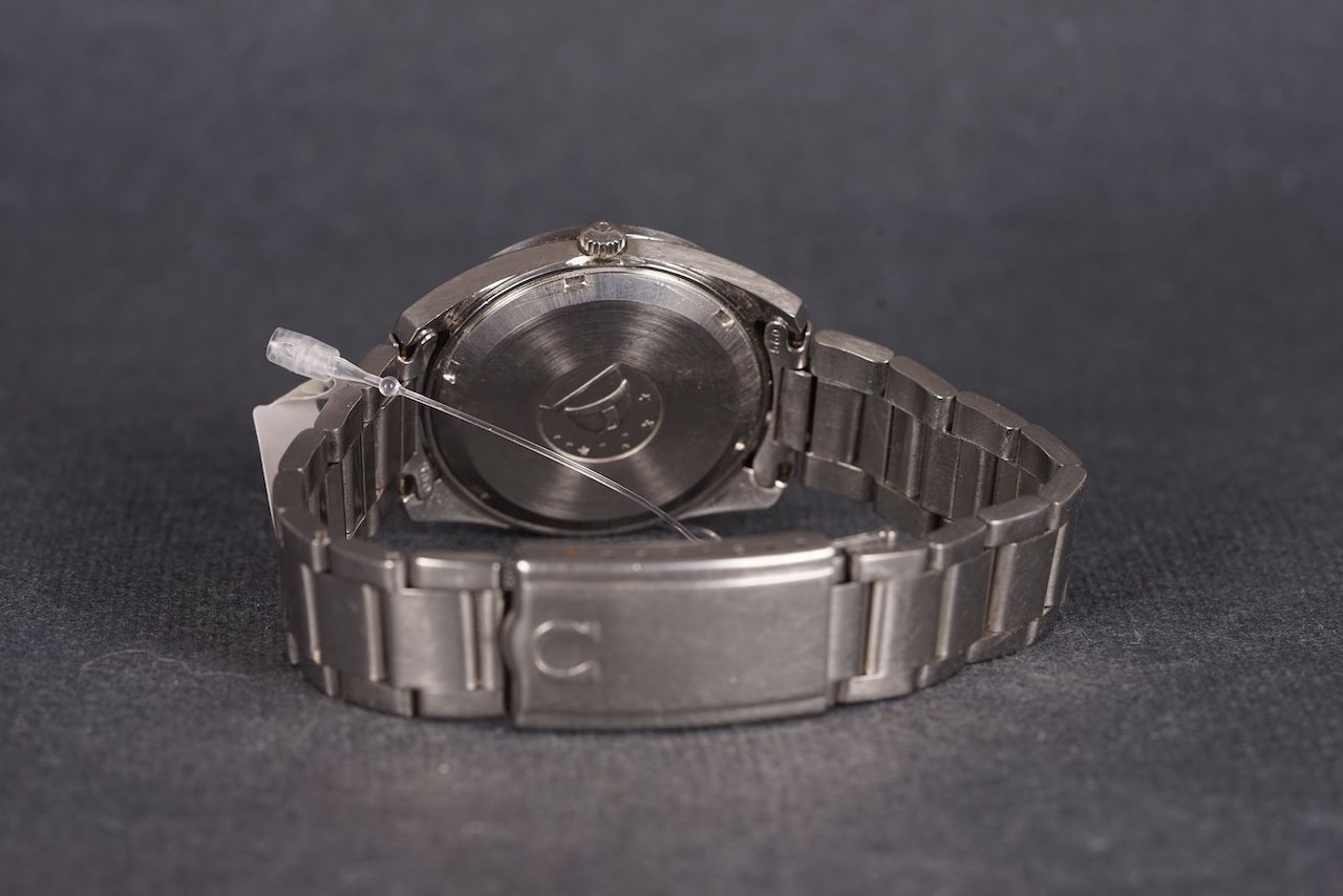 GENTLEMENS OMEGA SEAMASTER F300HZ WRISTWATCH, circular patina dial with silver hour markers and - Image 2 of 2