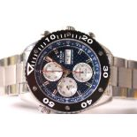 LIMITED EDITION EDOX SPIRIT OF NORWAY CHRONOGRAPH 37/102 REFERENCE N262413/01104, blue 3D dial,