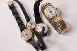 *TO BE SOLD WITHOUT RESERVE*Group of ladies watches, circa 1960s, 4, Oris, accurist, second.