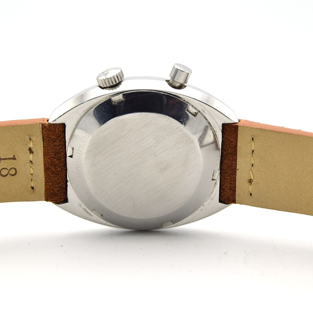 GENTLEMAN'S OMEGA CHRONOSTOP GENEVE, REF. 145.009, CIRCA 1968, 34.5MM MANUALLY WOUND WATCH, circular - Image 4 of 7
