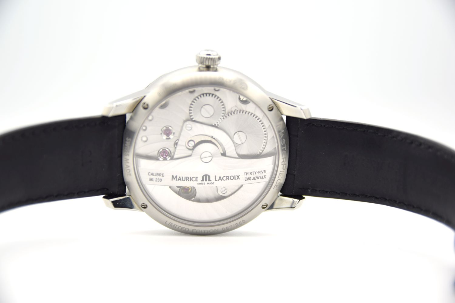 GENTLEMAN'S MAURICE LACROIX MATERPIECE GRAVITY LIMITED EDITION, AUTOMATIC MANUFACTURE ML230, - Image 4 of 8