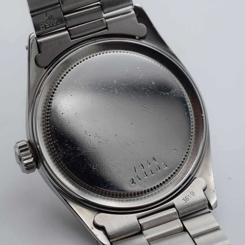 GENTLEMAN'S TUDOR OYSTER ROYAL, REF. 7934, CIRCA 1958/59, 34MM, BOX ONLY, circular white dial with - Image 11 of 13