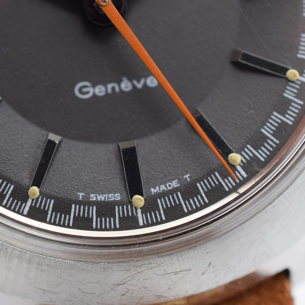 GENTLEMAN'S OMEGA CHRONOSTOP GENEVE, REF. 145.009, CIRCA 1968, 34.5MM MANUALLY WOUND WATCH, circular - Image 6 of 7