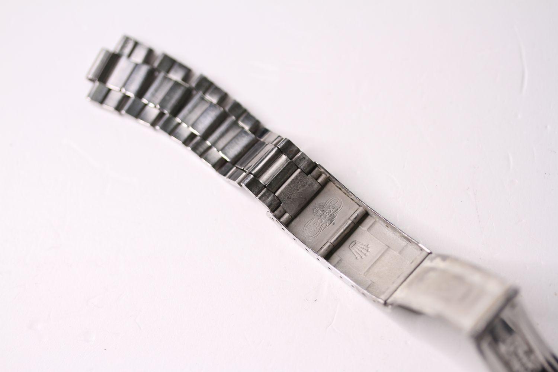 Vintage Rolex folded steel Bracelet, 9315 stamped end link, 280 stamped end pieces, approximately - Image 3 of 4