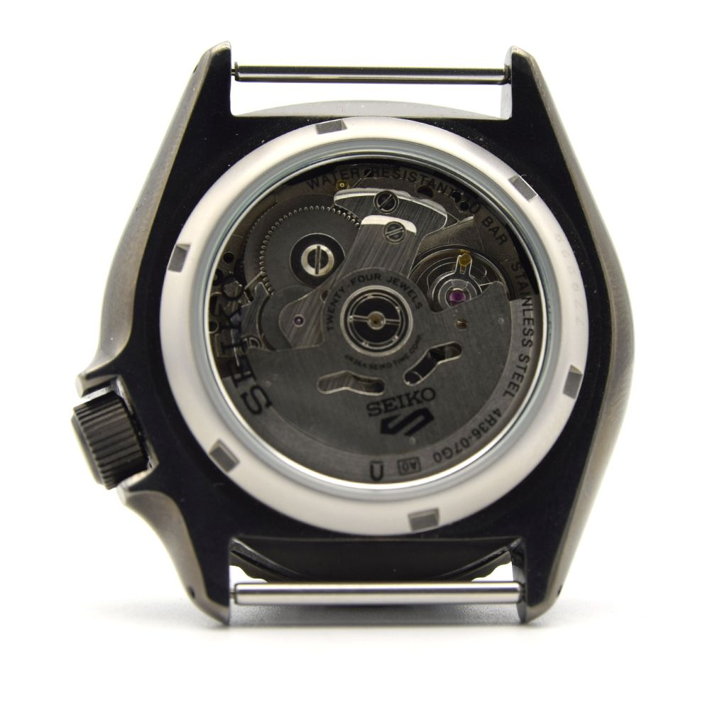 """*TO BE SOLD WITHOUT RESERVE*GENTLEMAN'S SEIKO 5 """"5KX"""" BLACK AND GREEN, REF SRPD77K1 (4R36-07G0), - Image 5 of 5"""