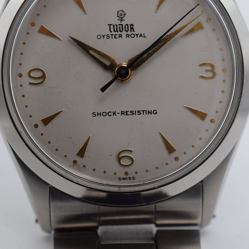 GENTLEMAN'S TUDOR OYSTER ROYAL, REF. 7934, CIRCA 1958/59, 34MM, BOX ONLY, circular white dial with - Image 8 of 13