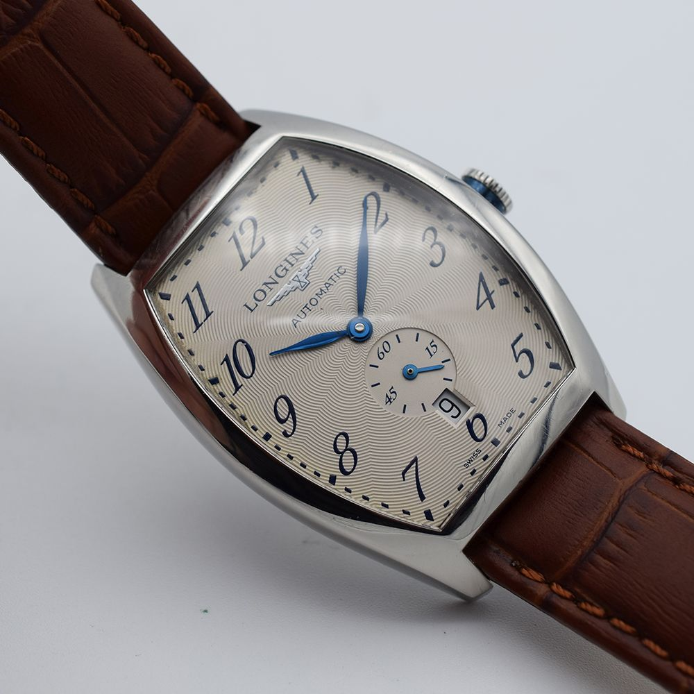 GENTLEMAN'S LONGINES EVIDENZA AUTOMATIC RECTANGULAR, REF. L2.642.4, BOX & BOOKLETS + BUCKLE, - Image 4 of 7