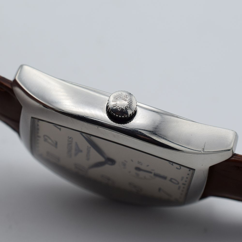 GENTLEMAN'S LONGINES EVIDENZA AUTOMATIC RECTANGULAR, REF. L2.642.4, BOX & BOOKLETS + BUCKLE, - Image 6 of 7
