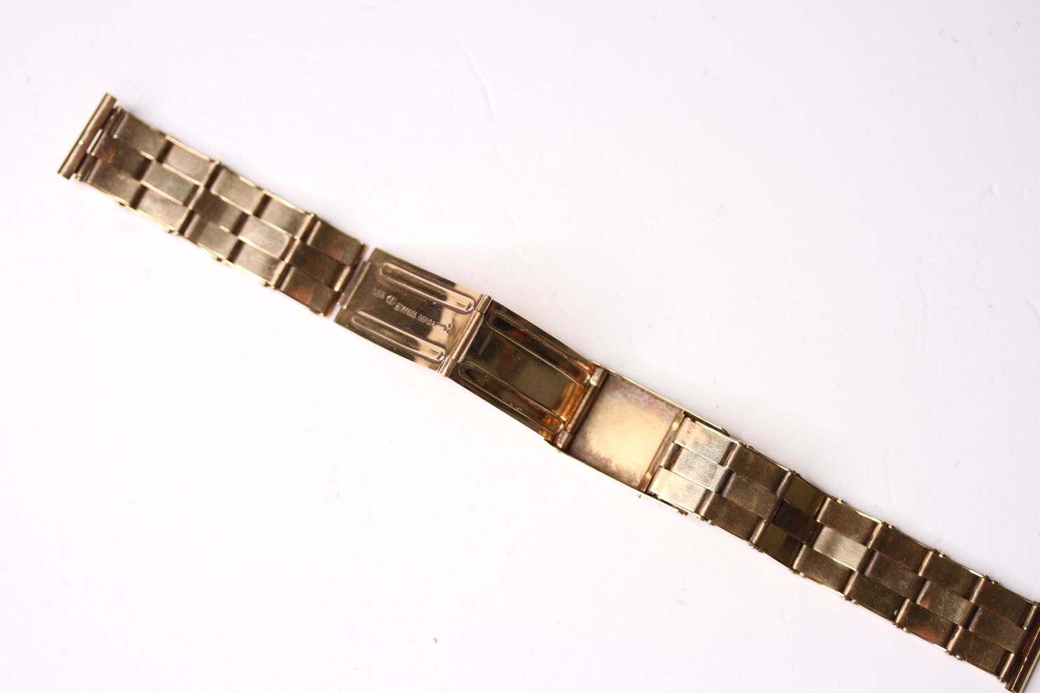 14CT VINTAGE EXPANDABLE BRACELET, stamped 14ct yellow gold, mecan 1956, approximately 35.1g. - Image 3 of 3