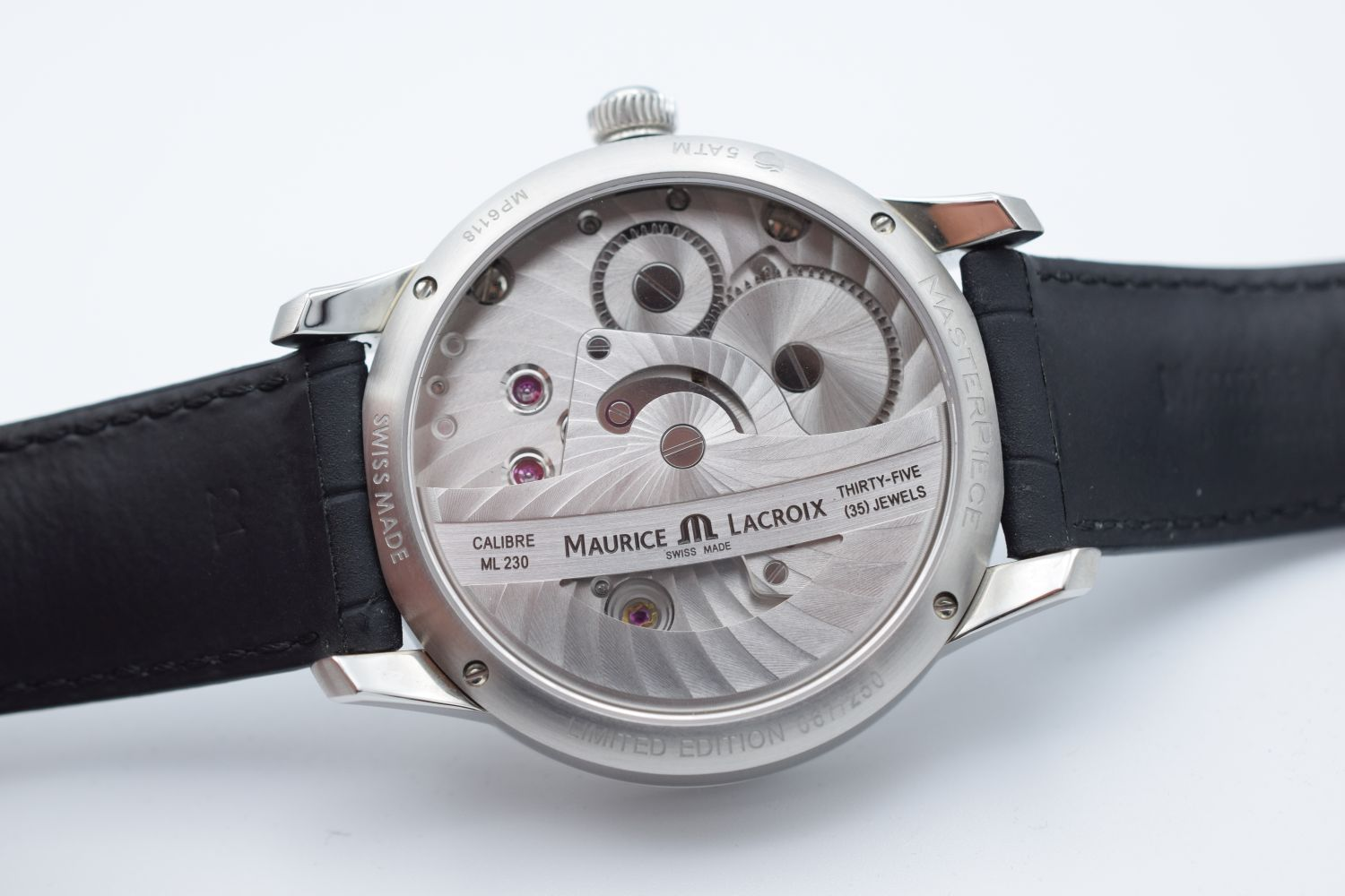 GENTLEMAN'S MAURICE LACROIX MATERPIECE GRAVITY LIMITED EDITION, AUTOMATIC MANUFACTURE ML230, - Image 8 of 8