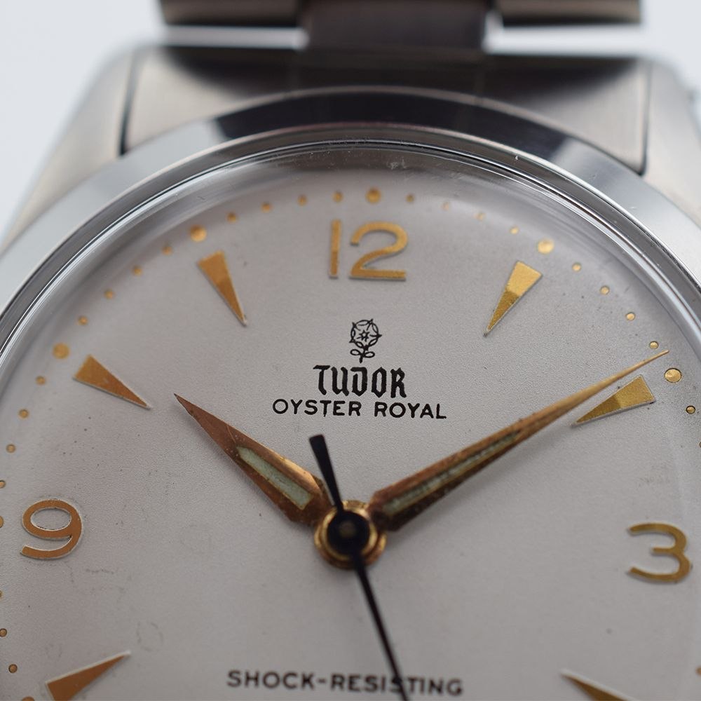 GENTLEMAN'S TUDOR OYSTER ROYAL, REF. 7934, CIRCA 1958/59, 34MM, BOX ONLY, circular white dial with - Image 9 of 13