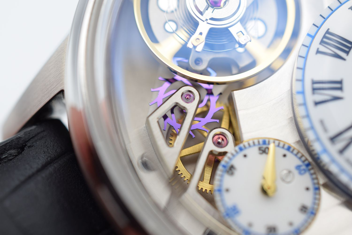 GENTLEMAN'S MAURICE LACROIX MATERPIECE GRAVITY LIMITED EDITION, AUTOMATIC MANUFACTURE ML230, - Image 7 of 8