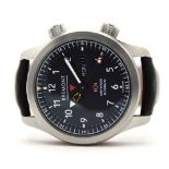 """GENTLEMAN'S 2013 BREMONT MARTIN BAKER MBII BLACK, AUTOMATIC BREMONT MODIFIED CAL. 11 1/4"""" BE-36AE"""
