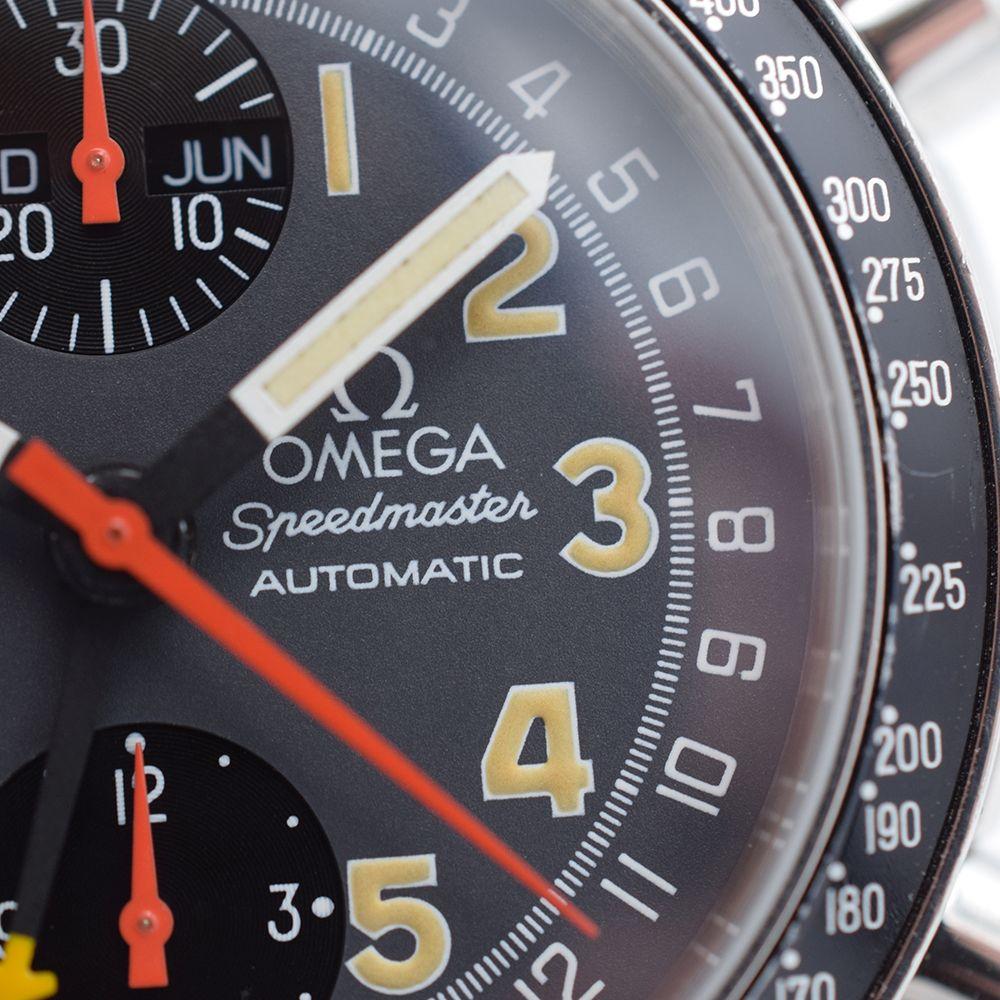 RARE GENTLEMAN'S OMEGA SPEEDMASTER TRIPLE CALENDER MK40, REF. ST3750084, CIRCA 1995, 39MM, OMEGA - Image 7 of 11