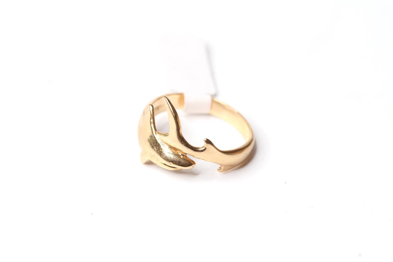 14k shark Ring, 3.8g gross - Image 2 of 2