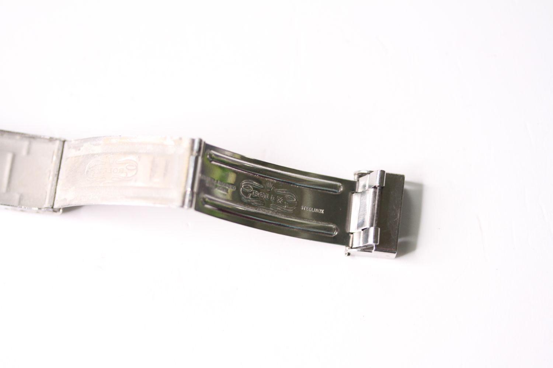 Vintage Rolex folded steel Bracelet, 9315 stamped end link, 280 stamped end pieces, approximately - Image 2 of 4