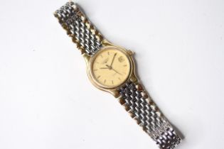 *TO BE SOLD WITHOUT RESERVE* LADIES LONGINES 'FLAGSHIP' QUARTZ WRIST WATCH, circular champagne