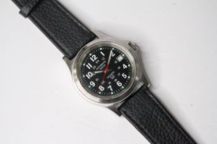 *TO BE SOLD WITHOUT RESERVE* TROOPER AUTOMATIC WRIST WATCH, circular black dial with arabic