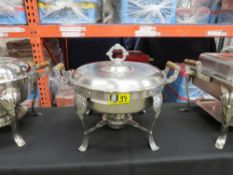 CHAFING DISH-6qt. ROUND (STAINLESS)