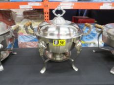 CROWN-RSS CHAFING DISH-6qt. ROUND (STAINLESS)