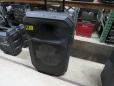 ION PA SYSTEM-w/ LED LIGHT, MIC & STANDS