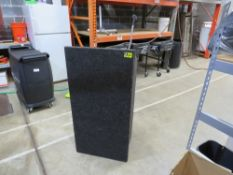 SOUNDCRAFT LECTERN-CHARCOAL GRAY CARPET (NO SOUND)
