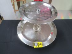 TRAY-2 TIER (STAINLESS STEEL)