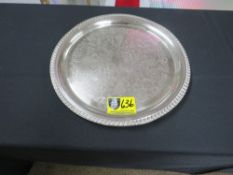 """TRAY-ROUND 14"""" (SILVER)"""