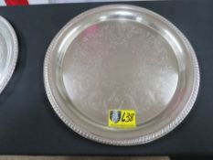 """TRAY-ROUND 16"""" (SILVER)"""