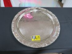"""TRAY-ROUND 17"""" (SILVER)"""