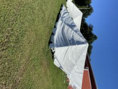 20x20 Frame Tent- Top Only