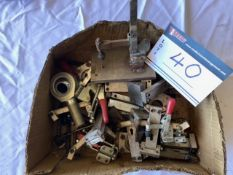LOT OF ASSORTED CLAMPS AND DEVICES