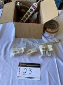 LOT OF MISCELLANEOUS ELECTRIC FUSES